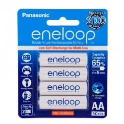 Panasonic Eneloop 4 AA Rechargeable Batteries