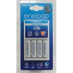 Panasonic Eneloop Quick Charger + 4 AA Batteries
