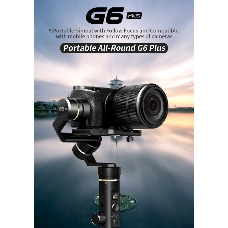 G6 Plus 3-Axis Gimbal for Mirrorless Camera