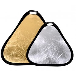 Gold/Silver Portable Reflector 80cm