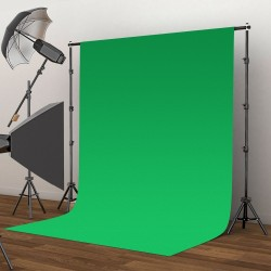 Green Non-Woven Backdrop Fabric