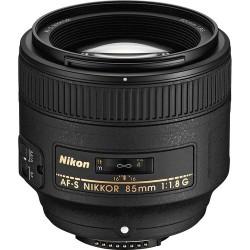 NIKKOR AF-S 85mm f/1.8G Lens