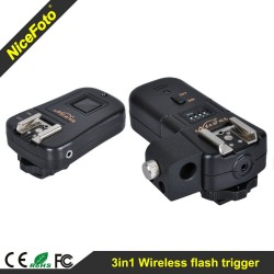3in1 Wireless Flash Trigger