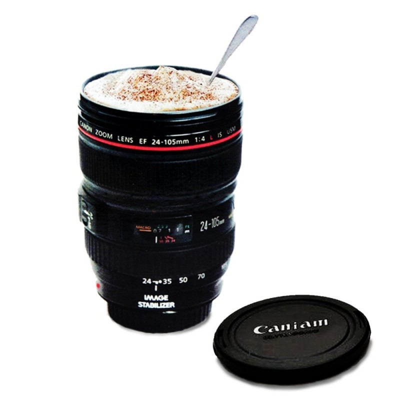 Caniam Coffee Mug Camera Emulation 480ML