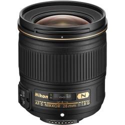 NIKKOR 28mm AF-S f/1.8G Lens