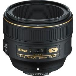 NIKKOR 58mm AF-S f/1.4G Lens
