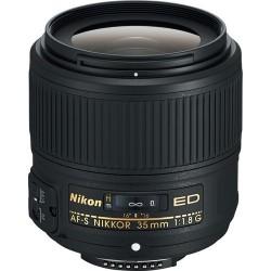 NIKKOR 35mm AF-S f/1.8G ED...