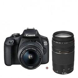Canon EOS 2000D 18-55 + 75-300