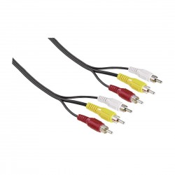 Hama Video Cable, 3 RCA...