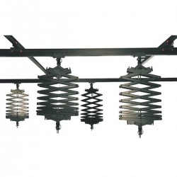 Ceiling Rail with 4 Pantograph