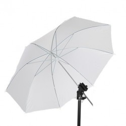 91cm Soft White Umbrella